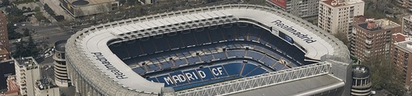 Norte de Madrid - Estadio Santiago Bernabéu
